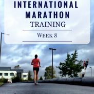 California International Marathon Training Week 8