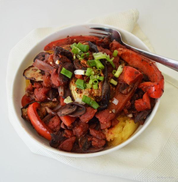 Eggplant Cacciatore (Vegetarian Recipe Challenge)