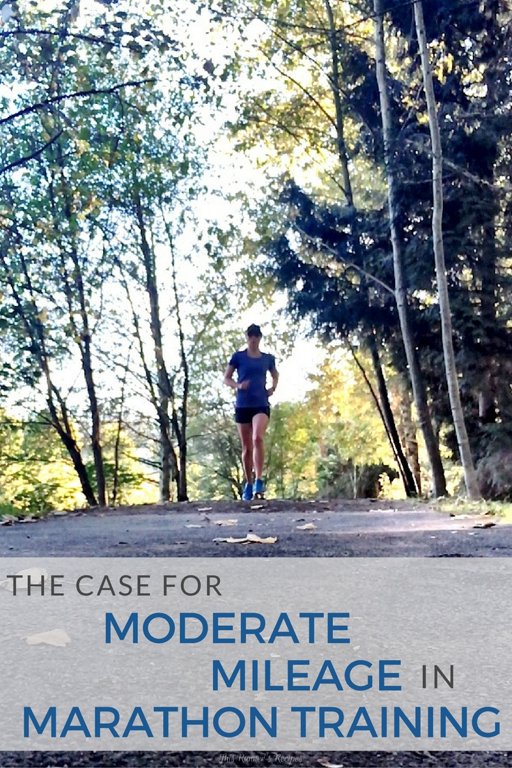 The Case for Moderate Mileage in Marathon Training