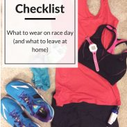 Race Day Outfit Checklist