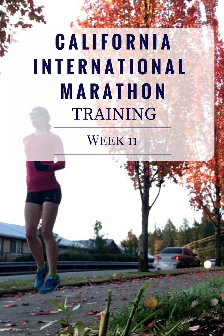 California International Training Week 11