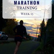 California International Marathon Training Week 13