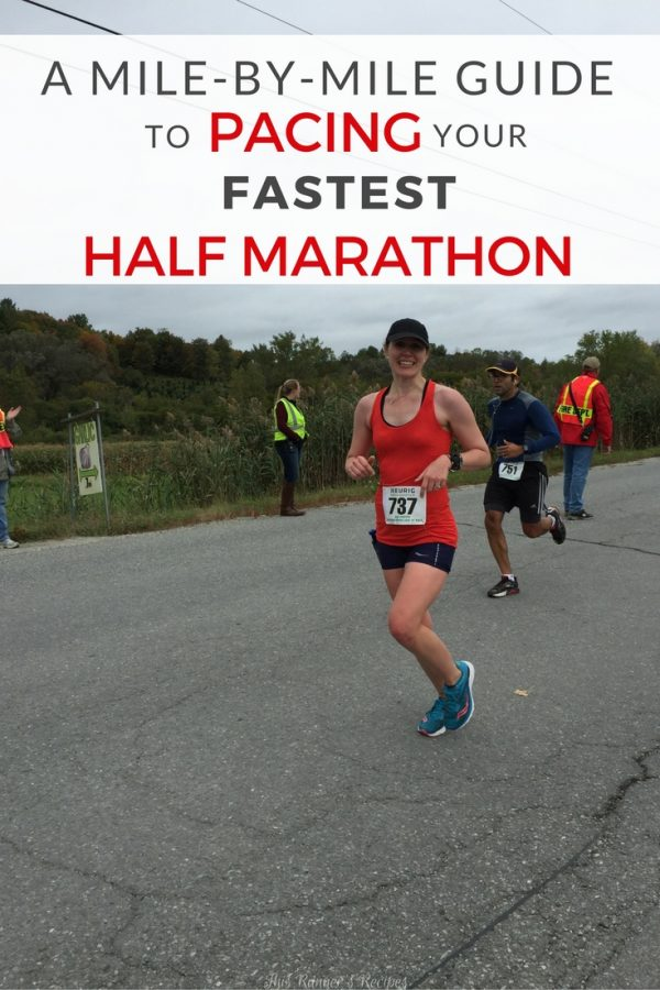 Your Mile by Mile Guide for How to Pace Your Fastest Half Marathon