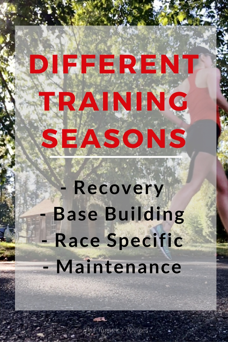 The Different Types of Training Seasons