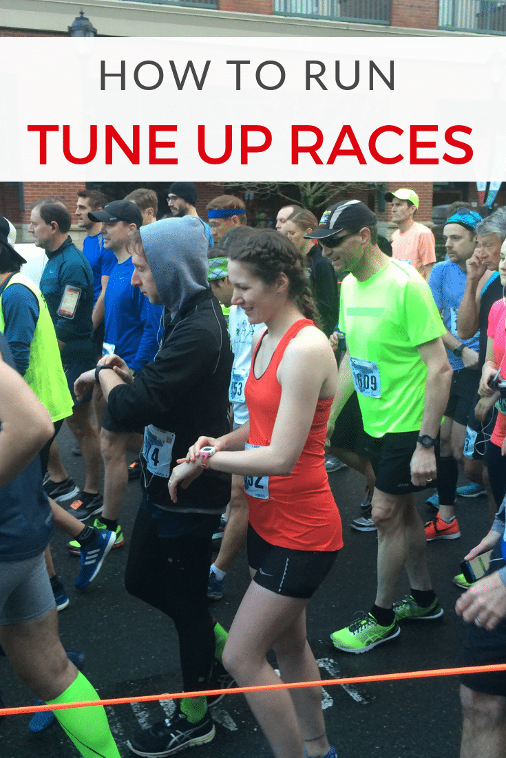 How to Include Tune-Up Races in Your Training