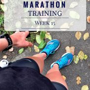 California International Marathon Training Week 15