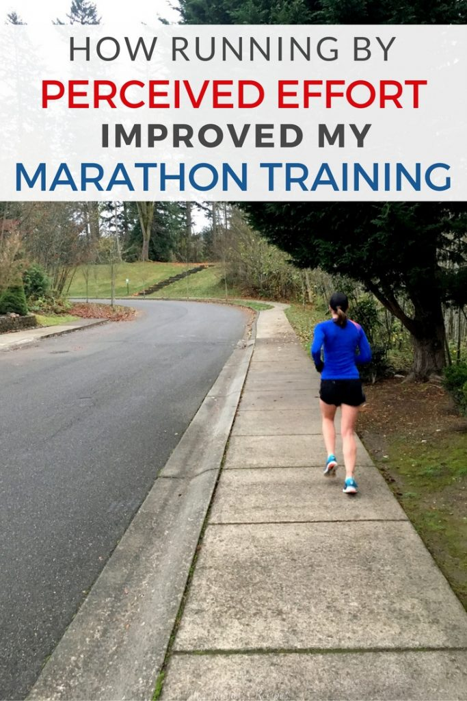 How Running By Perceived Effort Improved by My Marathon Training