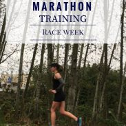 California International Marathon Training Race Week