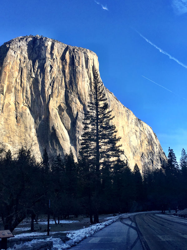 Visiting Yosemite in Winter