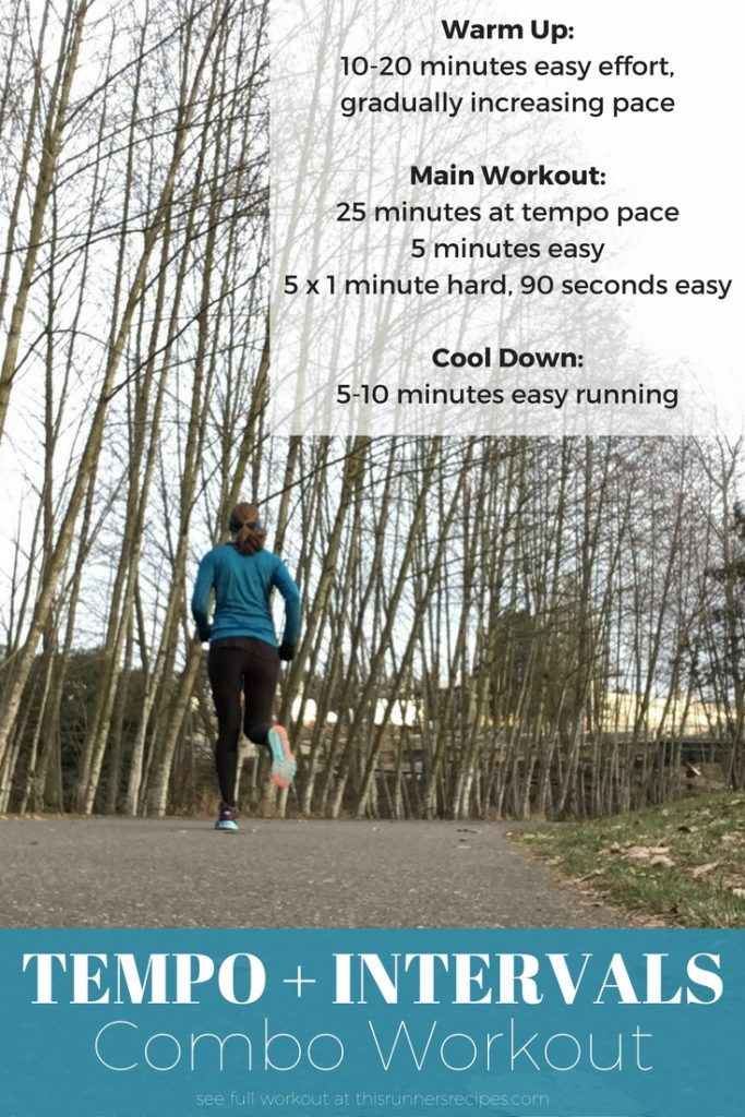 Train smarter and Run Faster with this Tempo and Interval Combo Workout