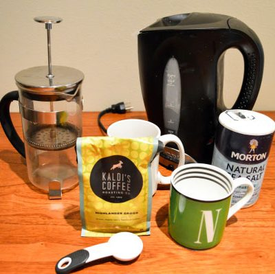 Quick Recipe: French Press Coffee