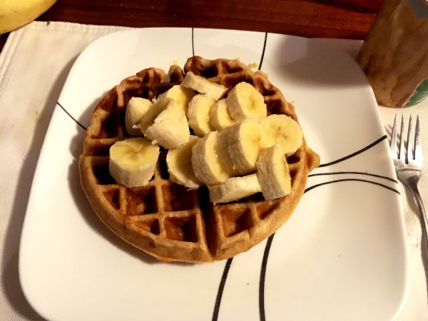 What I'm Cooking Lately: Sourdough Waffles