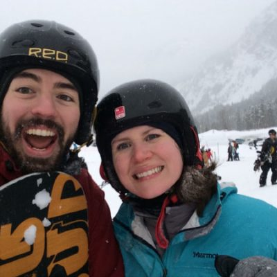 When a Runner Learns to Snowboard