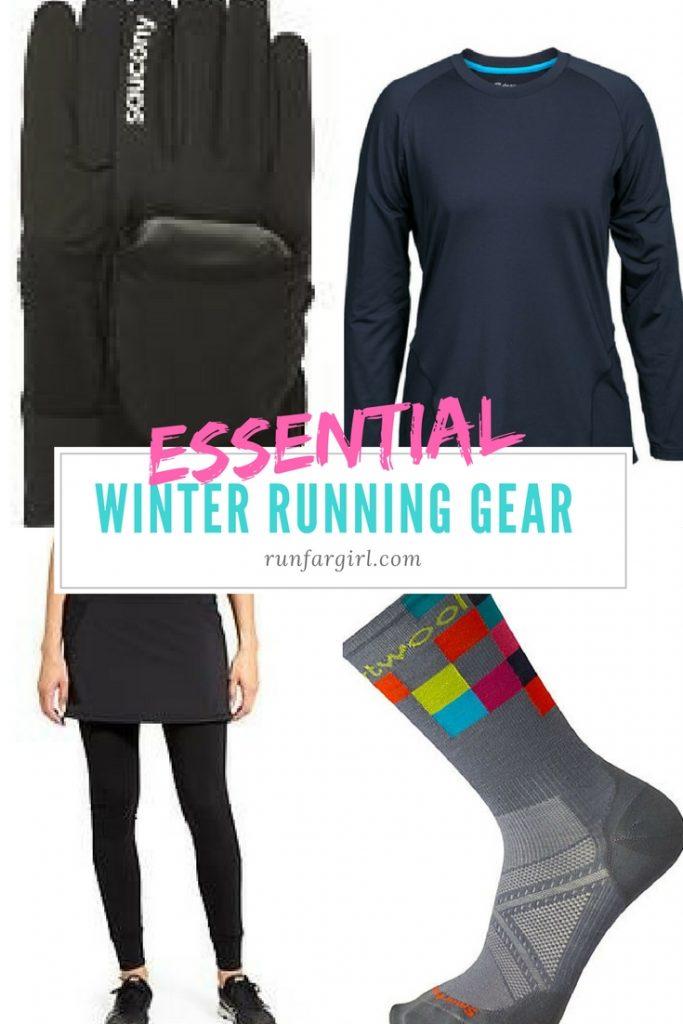 Winter running essential gear from Run Far Girl