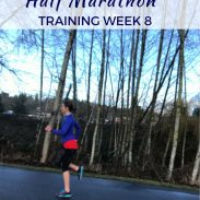 Lake Sammamish Half 2017 Training Week 8