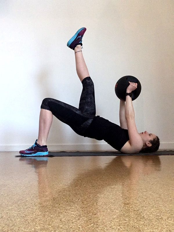 Total Body Medicine Ball Workout for Runners