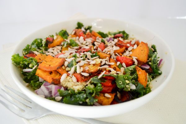 Mediterranean Quinoa Kale Salad