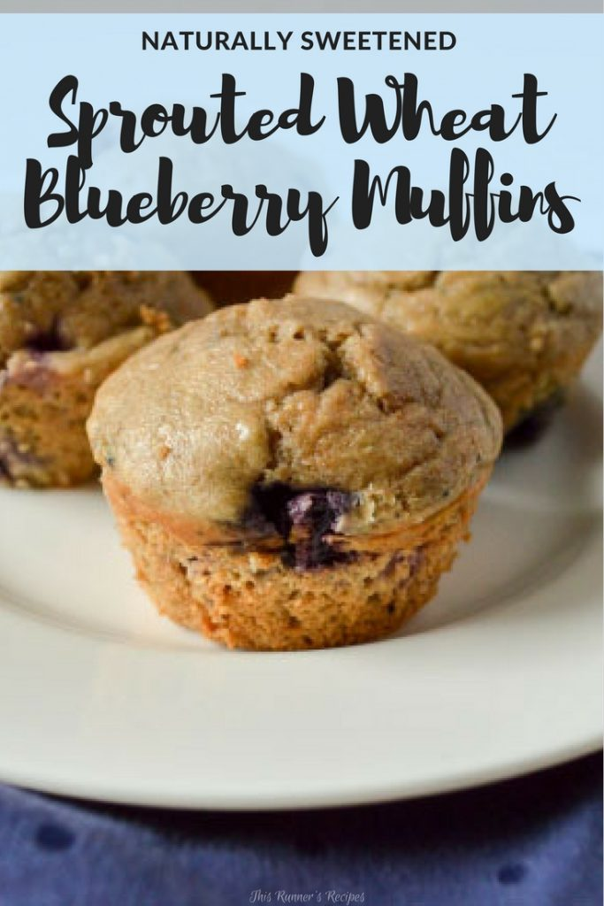 Sprouted Wheat Muffins