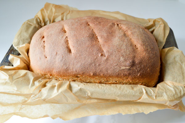 Whole Wheat Sourdough Bread