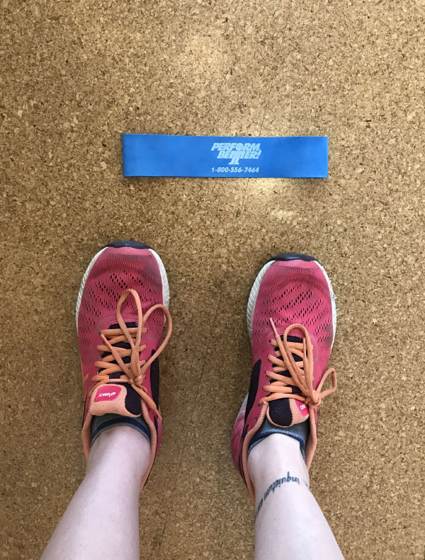 Build a Home Gym for Runners: Resistance Band