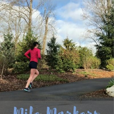 Mile Markers: Running for Fun