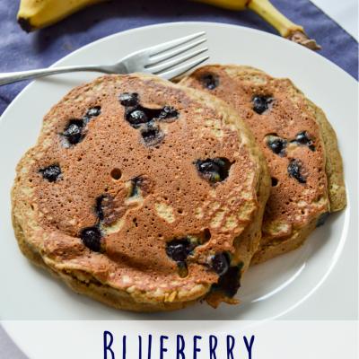 Blueberry Teff Pancakes