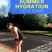 Summer Hydration Tips for Runners {Run It}