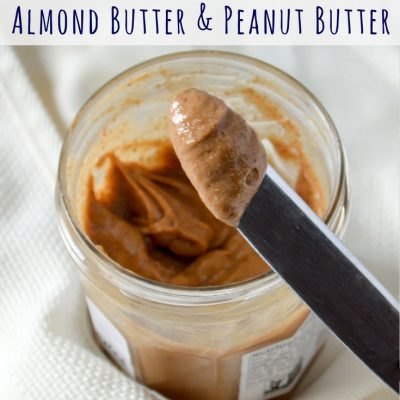 How to Make Your Own Almond Butter and Peanut Butter