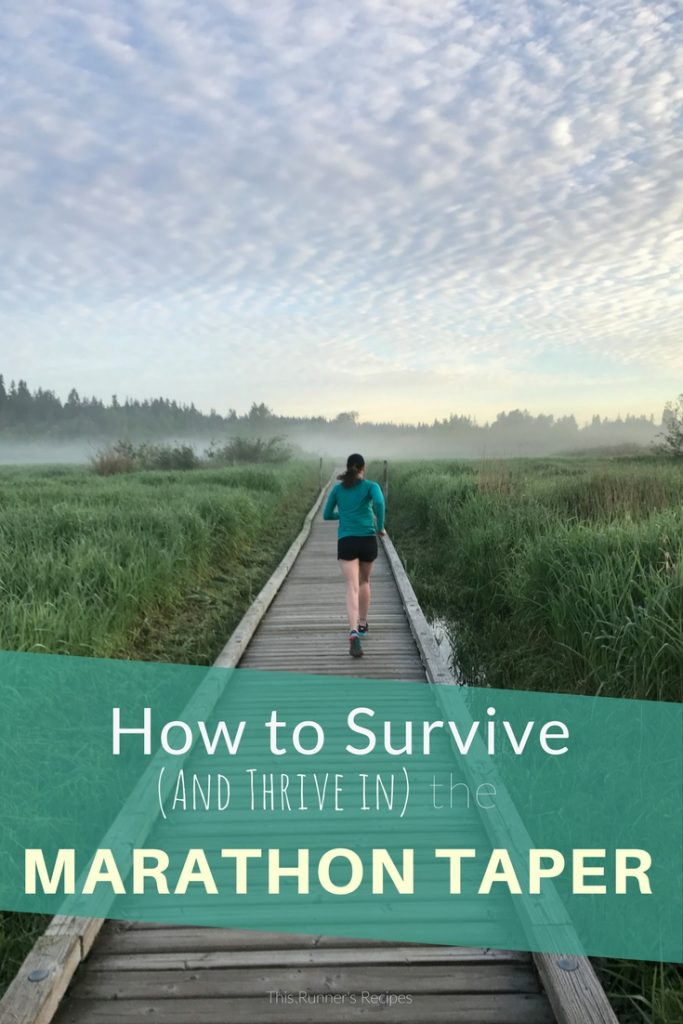 How to Survive (And Thrive in) The Marathon Taper