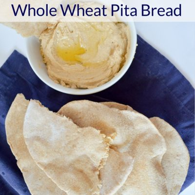 Sourdough Whole Wheat Pita Bread