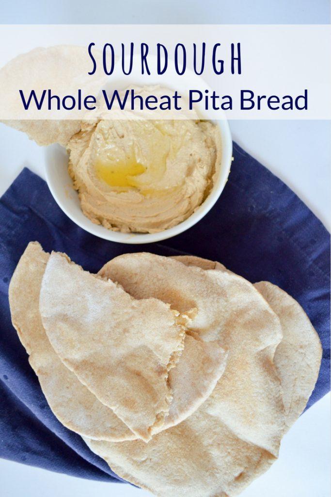Sourdough Whole Wheat Pita