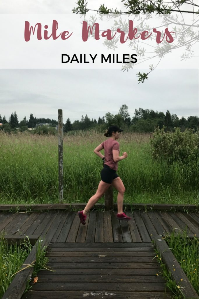 Mile Markers: Daily Miles