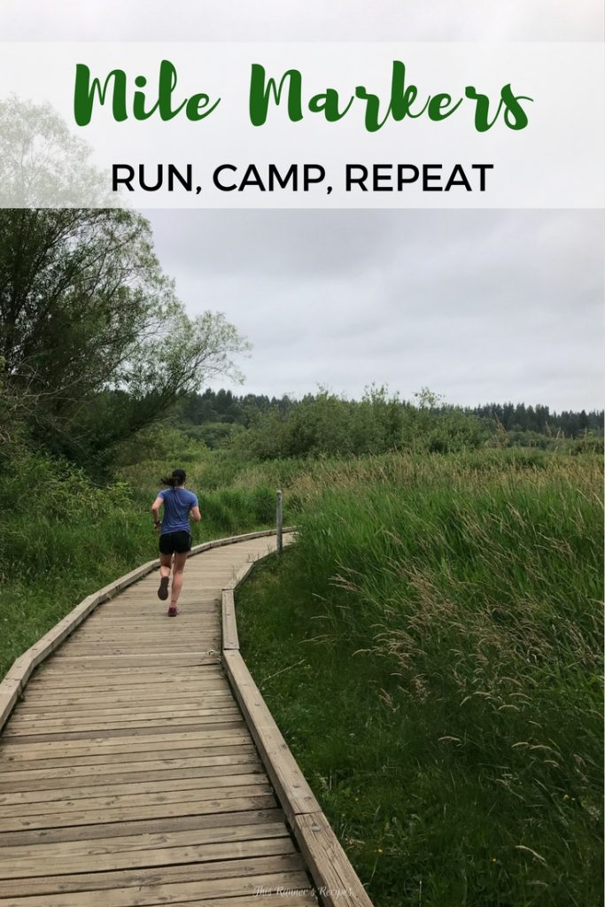 Mile Markers: Run, Camp, Repeat