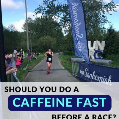 Should You Do a Caffeine Fast before a Race?