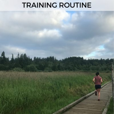 Mile Markers: Training Routine