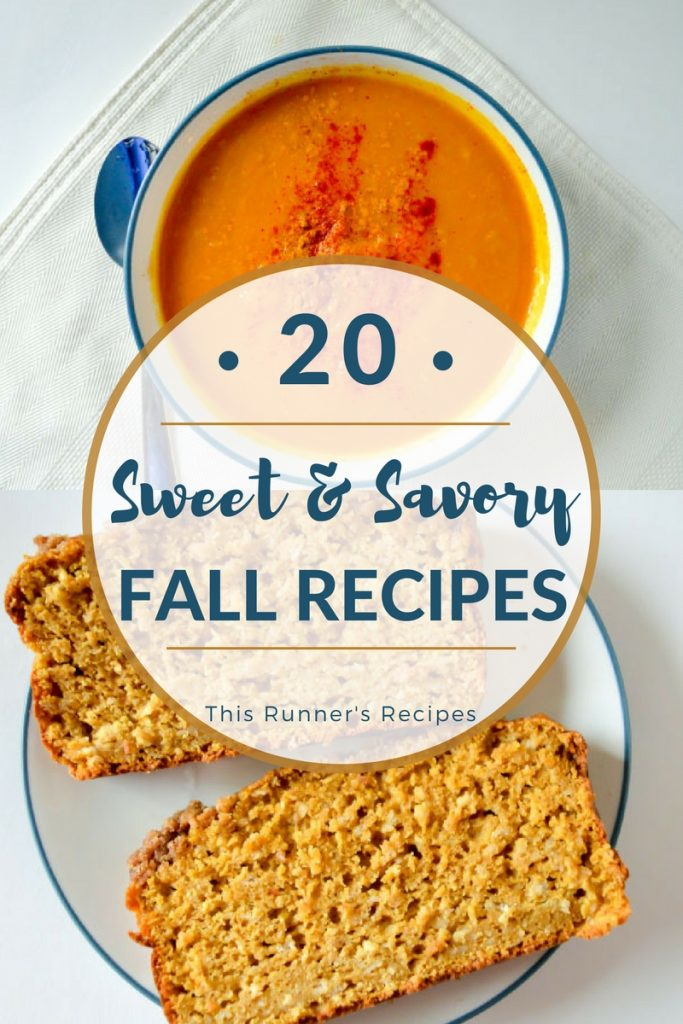 20 Sweet and Savory Fall Recipes