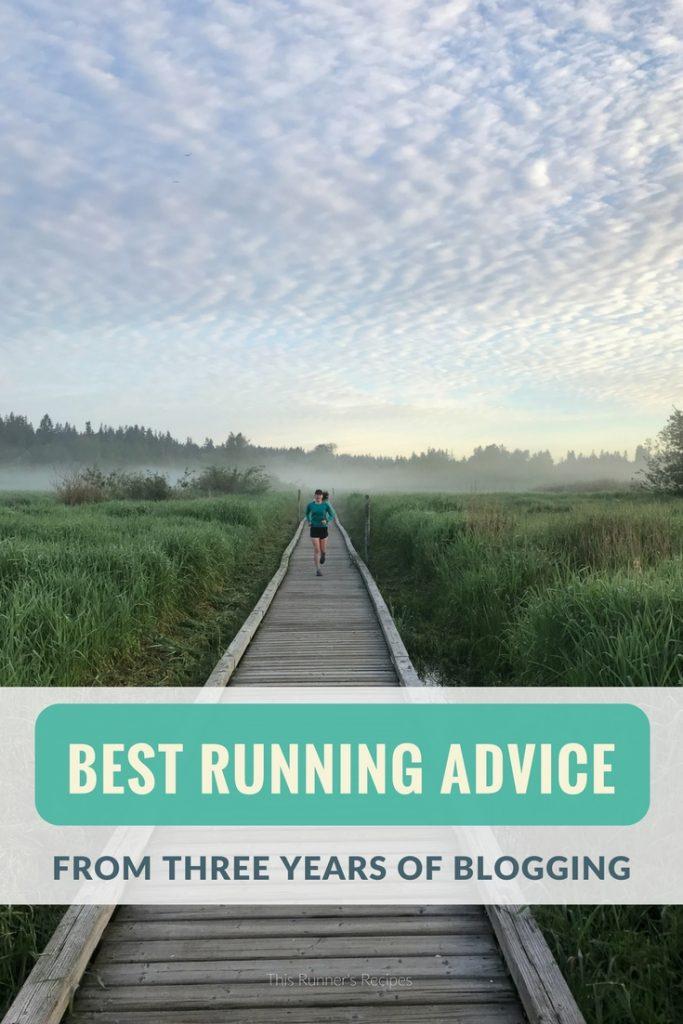 My Best Running Advice from Three Years of Blogging