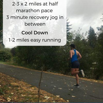5 Best Half Marathon and Marathon Workouts {Run It}
