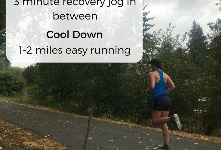 Favorite Half Marathon and Marathon Workout: Two Mile Repeats