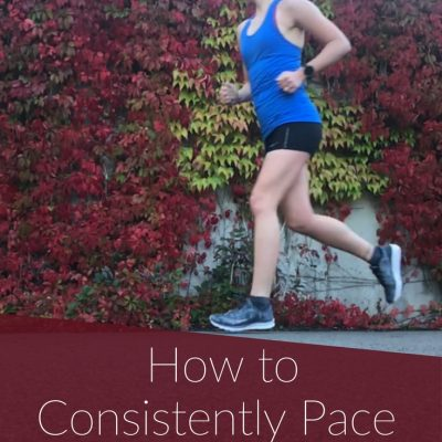 How to Pace during Speed Workouts