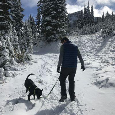 Early Season Snow at Mount Rainier