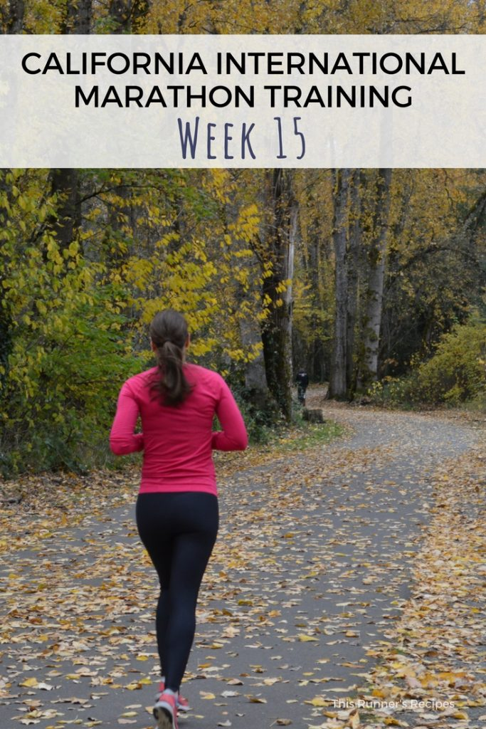CIM Training Week 15