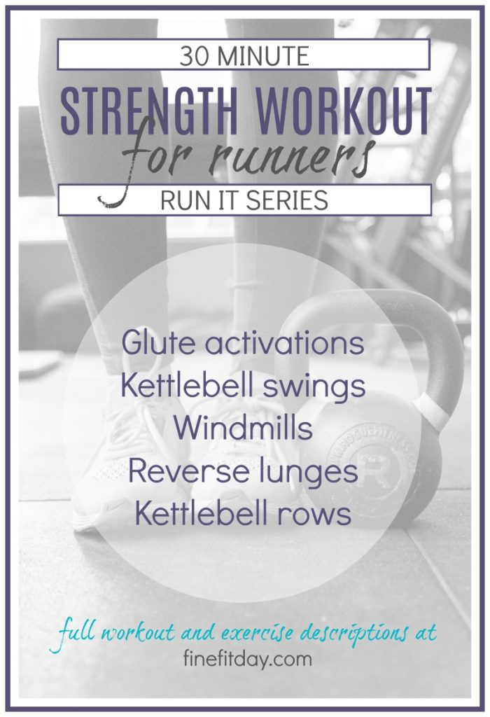 30 Minute Workouts for Runners - Kettebell Workout for Runners