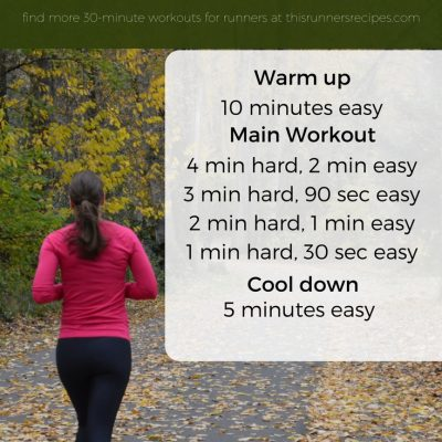 4 Effective 30 Minute Workouts for Runners {Run It}