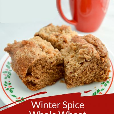 Winter Spice Whole Wheat Coffee Cake {Stonyfield}