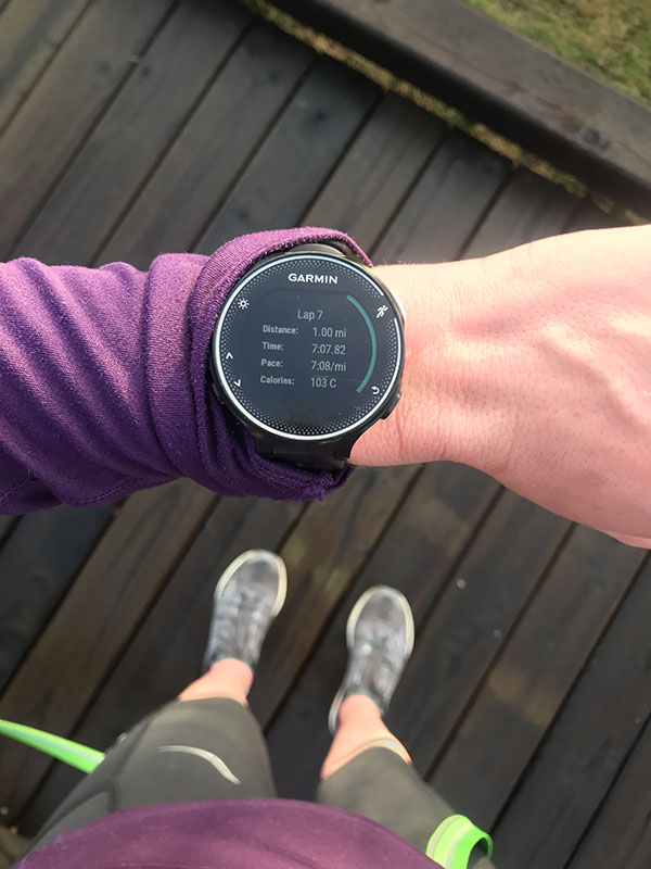 Mile Markers: Intuitive Running