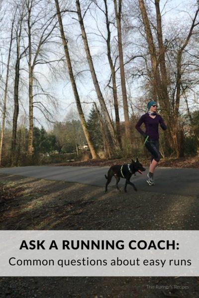Ask a Running Coach: Easy Runs