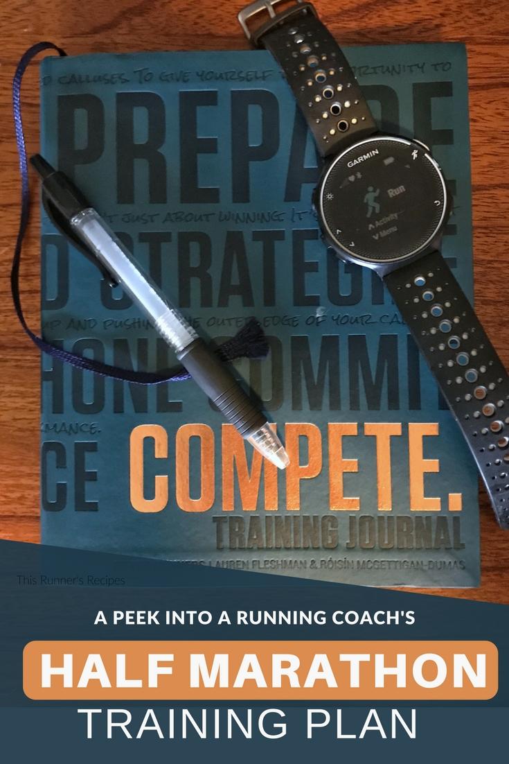 A Peek Inside My Half Marathon Training Plan