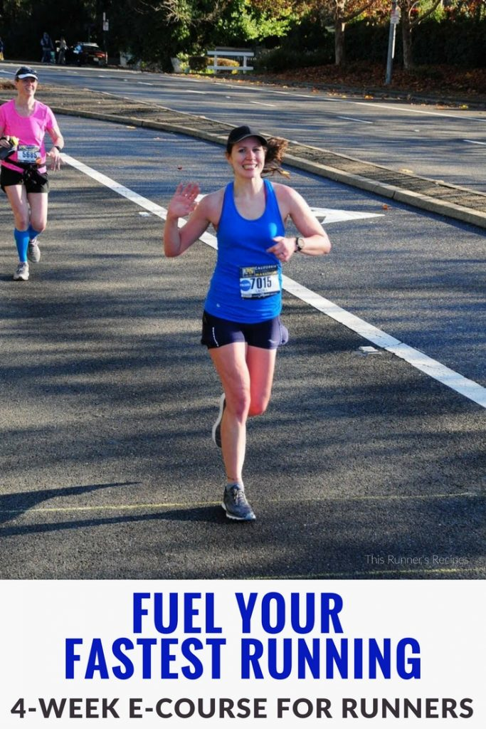 Fuel Your Fastest Running E-course: Avoid the wall, eliminate GI distress, and maximize performance with this four week e-course from a certified running coach