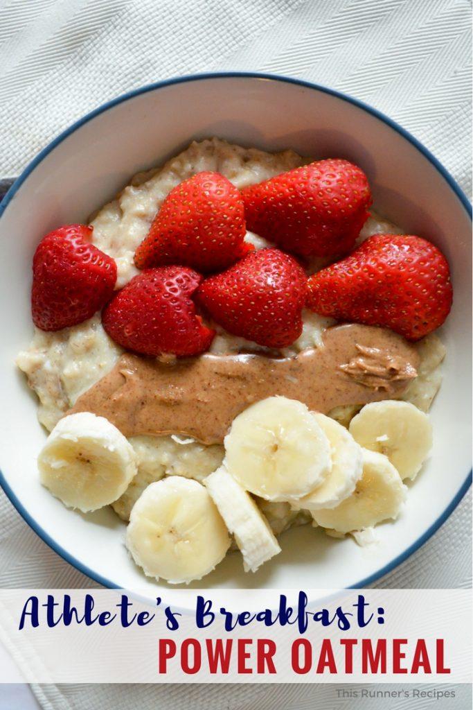Athlete's Breakfast: Power Oats